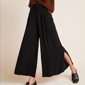 Anthropologie Maeve Bristol wide-leg pants